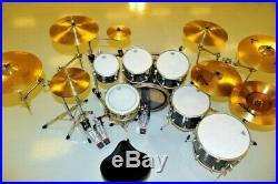 Dw collectors series drum set AND dw double pedal