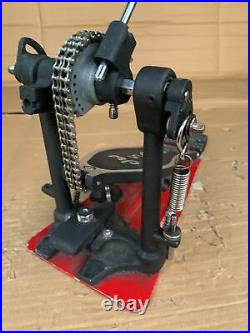 Free P&P. DW5000 Bass Drum Pedal w Base Plate. Half A Double Left Footed