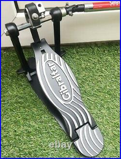 GIBRALTAR Velocity Double Drum Pedal with Quiet Strap Drive