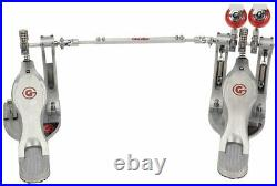 Gibraltar G Class Double Bass Drum Pedal with Bag 9711G-DB
