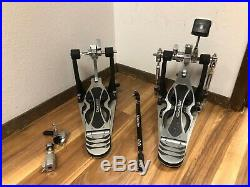 Gibraltar Intruder Direct Drive Double Bass Drum Pedal WithHi hat Clutch