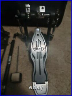 MAPEX Used Drumset Double Bass Pedal Foot Pedal Bass Drum Percussion with Case