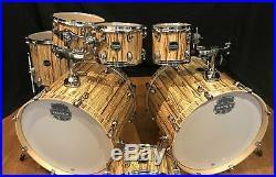 Mapex Mars 7 Piece Double Bass Drum Set-MA529SFIW-Driftwood
