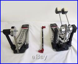 NEW DW 9000 Series DOUBLE BASS DRUM PEDAL XF Extended Footboard, TOP OF THE LINE