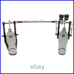 NEW Gibraltar 4000 Series G Chain Drive Double Bass Drum Pedal, #4711SC-DB