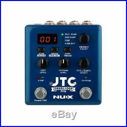 NUX JTC Drum & Loop Pro Dual Pedal