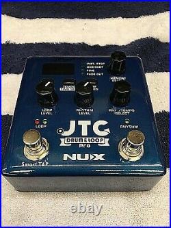 NUX Verdugo Series JTC Drum & Loop PRO Dual Switch Looper Pedal