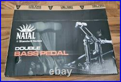 Natal Double Bass Drum Pedal (Brand new)