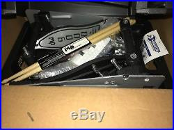New DW Drums 9000 Series Double Bass Pedal with Hard Case FREE SHIPPING