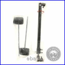 OPEN BOX PDP BY DW PDDP502 Double Bass Drum Pedal Silver Dual Steel Base