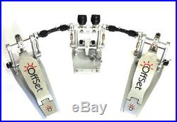 OffSet Double Bass Drum Pedal