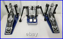 Offset Eclipse DOUBLE BASS DRUM PEDAL Free Shipping