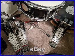 PDP CX Drumset Sabian Evolution, DW 9000 Double kick pedal, Hi-hat, Pearl rack
