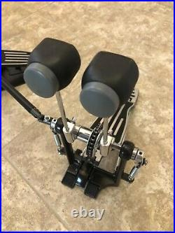 PDP by DW DP402 Double Bass Drum Pedal Chain-Drive Pacific Drums Left Handed