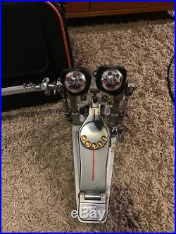 PEARL P3002D Eliminator Demon Drive Double Bass Drum Pedal /w Case + Acces