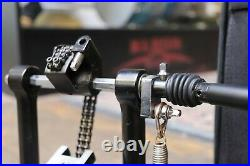 Peace Dual Chain Double Bass Drum Pedal withCase