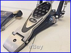 Pearl 2002C Power Shifter Eliminator Double Bass Kick Drum Pedal Light Use Clean