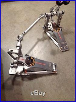 Pearl Demon Direct-Drive Double Bass Drum Pedal w CASE slightly used