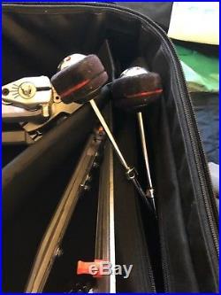 Pearl Demon Drive P-3002D Double Kick-drum Pedal WithCASE
