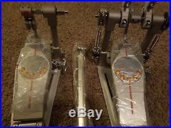 Pearl Eliminator Demon Drive Direct Double Pedal Case Bass Kick Drum Pedal Foot