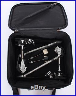 Pearl Eliminator P-2002 Double Bass Drum Pedal + Case