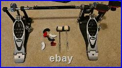 Pearl Eliminator Powershifter Double Bass Drum Pedal With Case Plus Extras