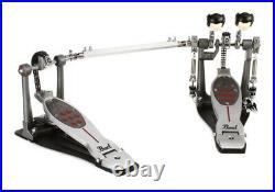 Pearl Eliminator Redline Chain Drive Double Bass Drum Pedal P2052C