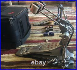 Pearl P2052C Eliminator Redline Double Bass Drum Pedal Chain Drive