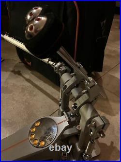 Pearl P3002DL Demon Drive Eliminator Bass Drum Double Pedal In Orig Case
