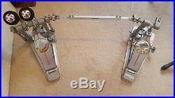 Pearl P3002D Demon Drive Double Bass Drum Pedal P-3002D with Case. DIRECT DRIVE