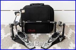 Pearl P-2002B PowerShifter Eliminator Belt-Drive Double Bass Drum Pedal Lefty