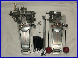 Pearl P-3002D Demon Series Double Bass Drum Pedal, Direct Drive (LEFTY)