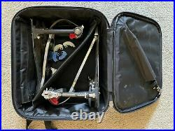 Pearl PowerShifter Eliminator Belt Driven Double Bass Drum Pedal. With Bag