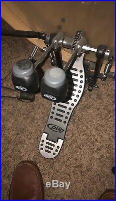 Pearl drum set used pdp double pedal pdp throne
