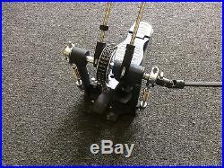Premier Double Bass Drum Pedal Twin Chain 4000 Series Model 0207 Excellent