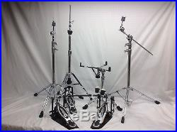 Premier Drums 4000 Series hardware Pack/Model # 5889/Includes Double Pedal/NEW