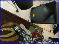 Roland TD27KV Electronic Kit Drum Set w amp, double bass pedal and other extras