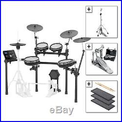 Roland TD-25KV Electronic Drum Kit withDW Double Pedal & Hi-Hat Stand, Noise Eaters
