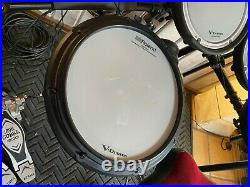 Roland Td-17kvx V-drums Electronic Drum Set + Double Pedal, Hi Hat Stand, Seat