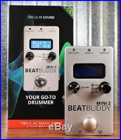 Singular Sound BeatBuddy Mini2 Drum Machine Guitar Effect Pedal+Dual Footswitch