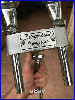 Slingerland DOUBLE TOM TREE Bass Drum Mount Version