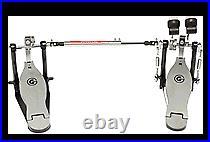 Strap Drive Double Bass Drum Pedal