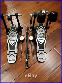 TAMA 600 Iron Cobra Double Bass Drum Pedal, LOOKS NEW