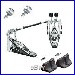 TAMA HP200PTW Iron Cobra Double Bass Drum Pedal BONUS PAK