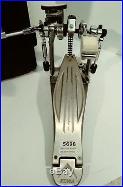 TAMA HP910LWN'SPEED COBRA' DOUBLE BASS DRUM PEDAL WithCASE! CLEAN