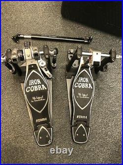 TAMA IRON COBRA Drum Pedals with Case
