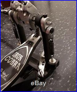 TAMA Iron Cobra 900 Power Glide Double Bass Drum Pedals With Carrying Case