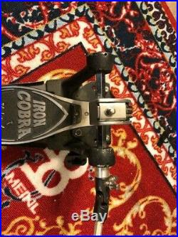 TAMA Iron Cobra Power Glide Double Bass Drum Pedal with hard case included