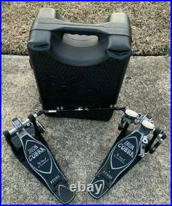Tama HP900P Iron Cobra Power Glide Double Bass Drum Pedal with case