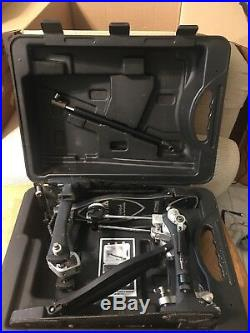 Tama Iron Cobra 900 Power Glide Double Bass Drum Pedal with molded Storage case